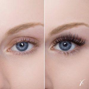 Prima e Dopo Xtreme Lashes