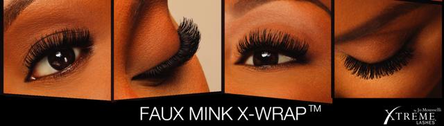 Esempio X-Wrap di Xtreme Lashes
